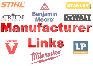 Manufacturer's LInks